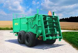 Машина для внесения твердых органических удобрений МТТ-9-1